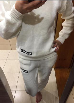 Спортивный костюм тм doratti (10369) белый4