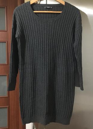 Платье-свитер, туника