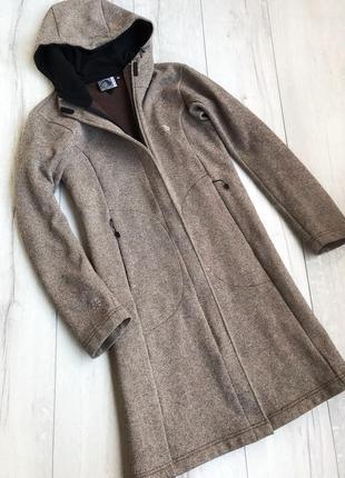 Шерстяне пальто tatonka quality outdoor gear