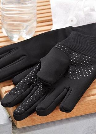 Не продуваемые сенсорные перчатки от tchibo германия р.9,5