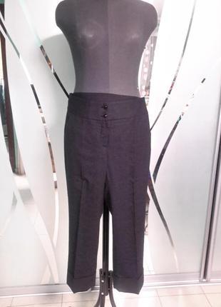 Укороченные повседневные  штаны/бриджи 36/38 размер