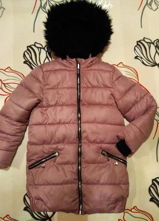 Шикарное зимнее пальто-куртка