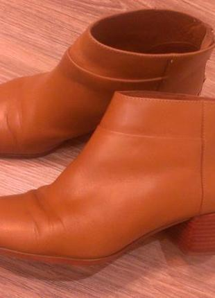 Ботинки кожаные весна/осень