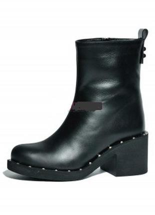 Ботинки зима на каблуке1