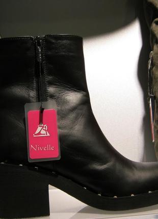 Ботинки зима на каблуке2