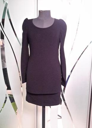 Трикотажное короткое  платье /туника