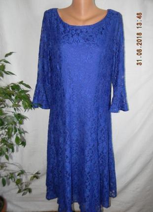 Красивое кружевное платье joanna hope
