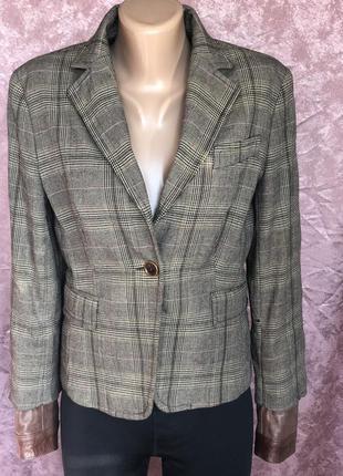 Жоккейский дамский пиджак sandro ferrone италия оригинал