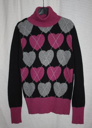 Распродажа свитер гольф базовый