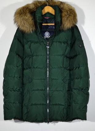 Пуховик tommy hilfiger w's down jacket