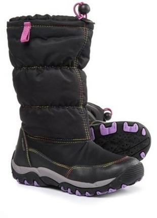 Зимние сапоги ботинки geox amphibiox размер 38 5. 5us