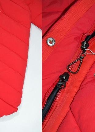 Пуховик одеяло  оверсайз кокон куртка зимняя био пух.3 фото