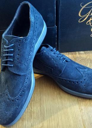 Туфли замшевые итальянские 29 см стелька туфлі замшеві da0a69b308cdf