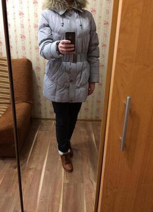 Анорак. куртка, утепленная натуральным пухом