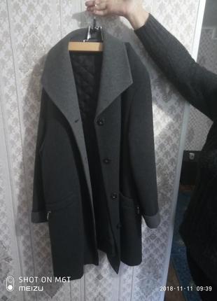 Пальто большой размер 56-58