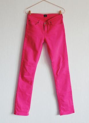 Рожеві джинси lee