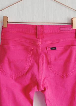 Рожеві джинси lee3 фото