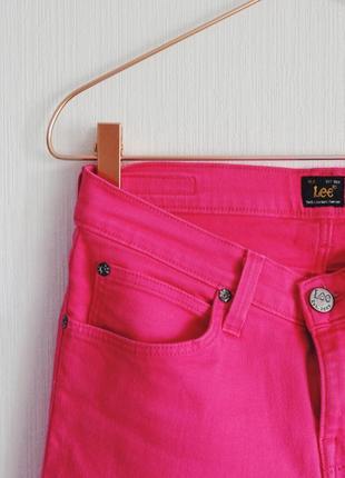 Рожеві джинси lee4 фото