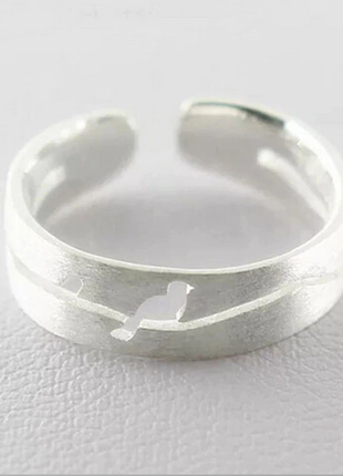 """Срібна каблучка """" пташка"""" акція ( кольцо серебро 925 )"""