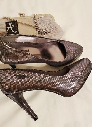 Шикарные вечерние туфли graceland на каблуке