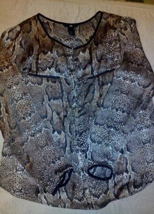 Леопардовая блуза