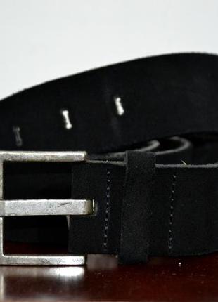 Замшевый ремень diesel suede belt