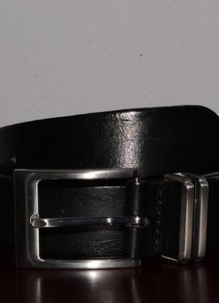 Кожаный ремень next leather belt