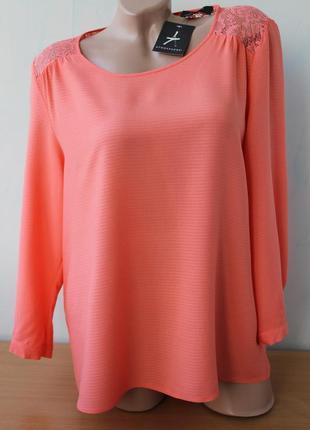 Блуза с кружевом atmosphere