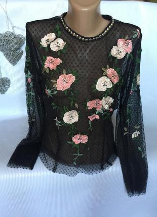 Шикарная блуза topshop