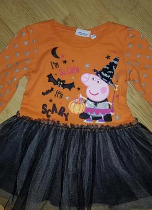 Платье peppa pig