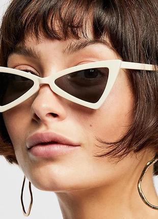 Солнцезащитные очки.очки треугольники.треугольные очки.имиджевые очки.очки
