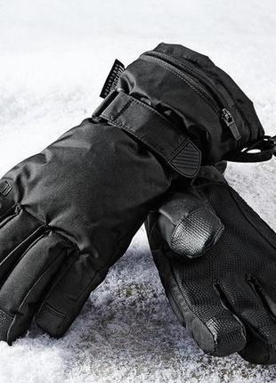 Мужские лыжные перчатки tcm tchibo р. 7,5 и 6,5 германия