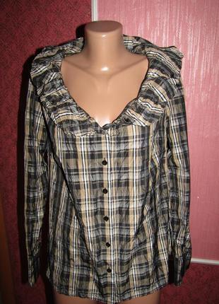Блуза р-р 16 бренд miss etam
