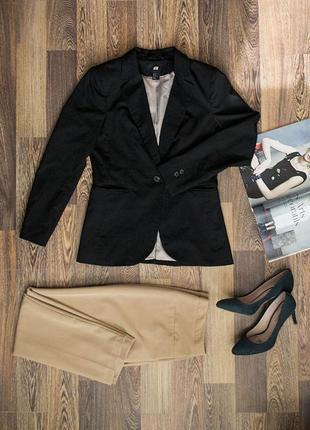 Стильный пиджак/жакет h&m
