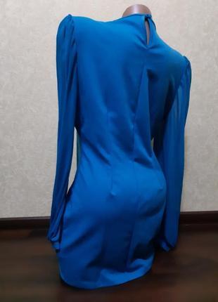 Платье   , воротник с  бисером3 фото
