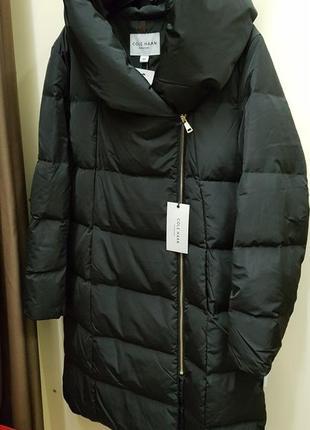 Американская женская зимняя куртка пуховик сole haan, оригинал! новая. размер xxl, скидка!
