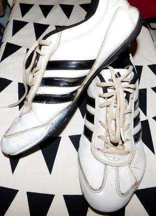 Кроссовки  adidas, нат. кожа, покупали в венгрии в ( будапеште )