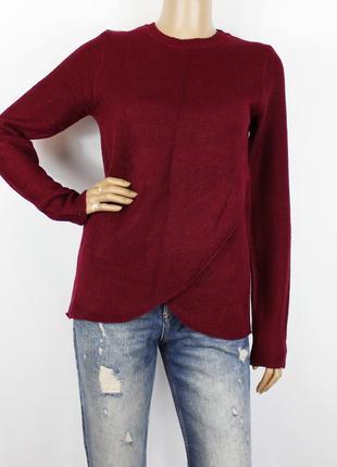Бордовый свитер brave soul