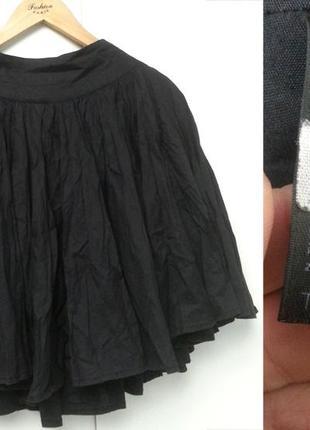 Topshop юбка клёш черная миди, классическая, для леди, под каблук, под монки или оксворды