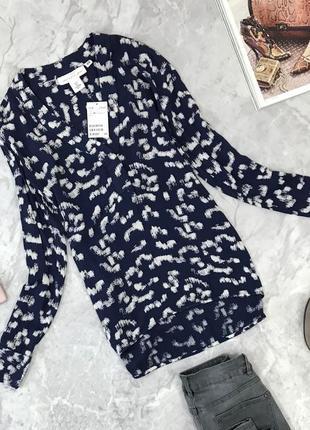 Классическая блуза с v- образным вырезом  bl1845056 h&m