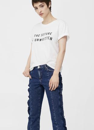 Укороченные джинсы mango   pn1846203  mango