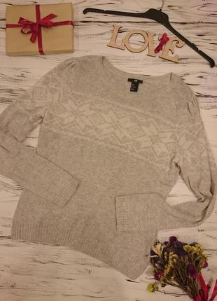 Нежный свитер с ангорочкой