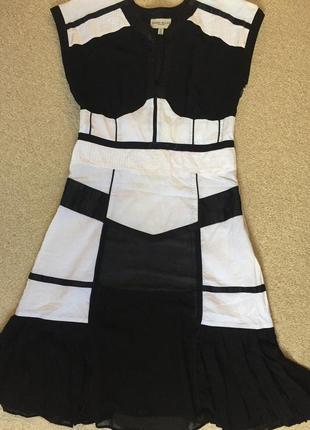 Дизайнерское красивое платье оригинал karen millen