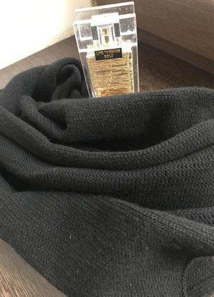 Мягкий шарф dkny 100% кашемир!