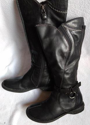 Bussola оригинальные кожаные сапоги 37
