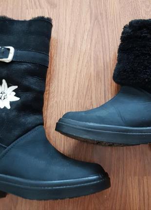 Зимние , теплющие ботинки