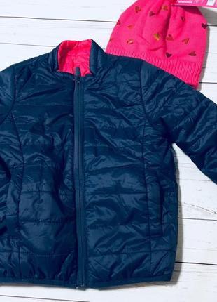 Новая двухсторонняя демисезонная  куртка от tchibo