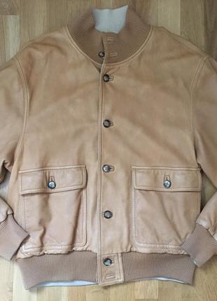 Кожаная мужская куртка индивидуального пошива