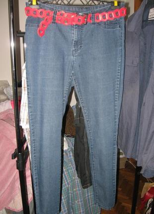Sale! sale! sale! классные зауженные джинсы/скинни р.48-50 от elle + ремень в подарок