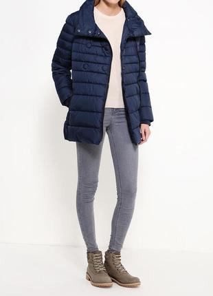 Синяя куртка oodji